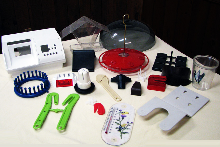 Custom Plastic Injected Molded Products